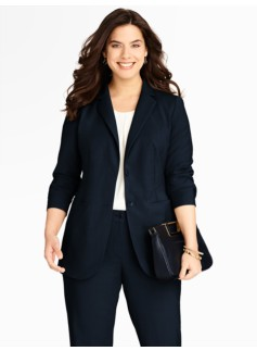 Seasonless Wool Two-Button Jacket