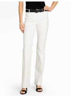Signature Bridget Pinstripe Bootcut Trousers
