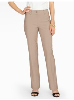 Seasonless Wool Tailored Bootcut Pants - Curvy
