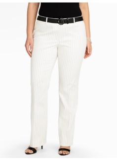 Heritage Bridget Pinstripe Bootcut Trousers