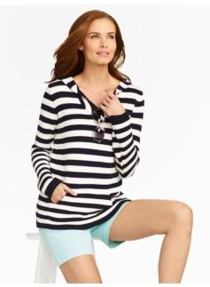 Stripe Sweater Hoodie