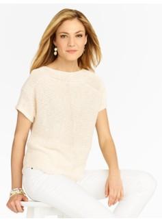 Linen Dolman Sweater