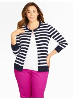 Striped Charming Cardigan