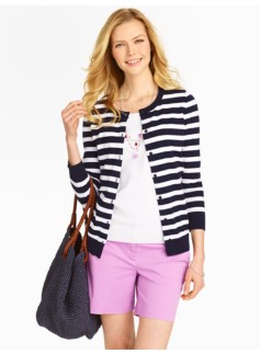 Striped Charming Cardigan