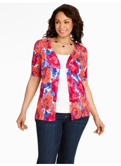 Mums Print Kelly Cardigan
