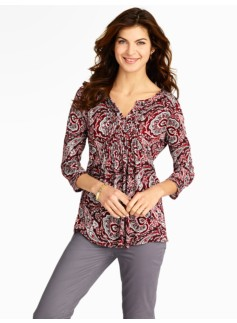 Paisley & Vines Top