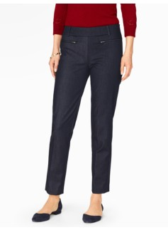 Talbots Chatham Ankle Pant - Polished Denim