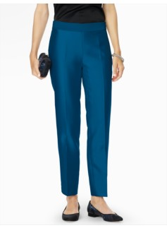 Doupioni Side-Zip Ankle Pant