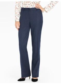 Talbots Windsor Italian Flannel Pant - Curvy