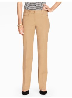 Curvy Fit Viscose Cotton Bootcut Pant