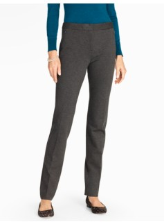 Refined Ponte Full-Length Pant