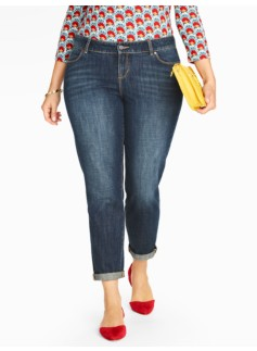 The Flawless Five-Pocket Boyfriend Jean - Lake Wash