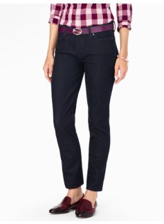 The Flawless Five-Pocket Ankle Jean - Curvy/Deep Sea
