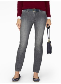 The Flawless Five-Pocket Ankle Jean - Curvy/Oyster