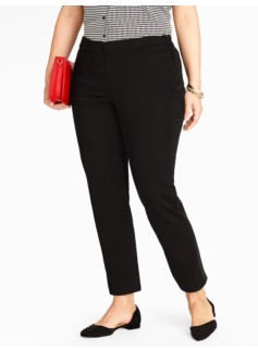Side-Zip Ankle Jean - Black