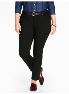 The Flawless Five-Pocket Ankle Jean - Black