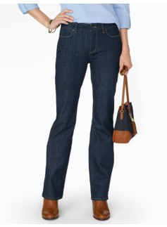 The Flawless Five-Pocket Bootcut - Curvy/Deep Ocean