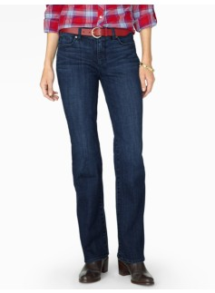The Flawless Five-Pocket Bootcut - Curvy/Delta Blue
