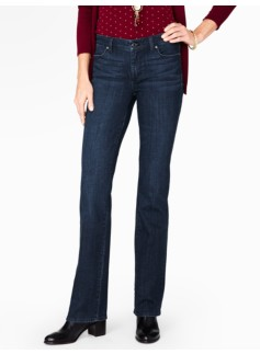The Flawless Five-Pocket Bootcut - Delta Blue
