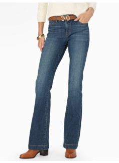 The Flawless Five-Pocket Flare-Leg Jean - Weekend Wash