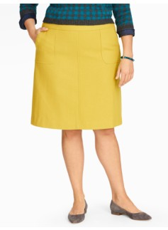 A-Line Pocket Skirt