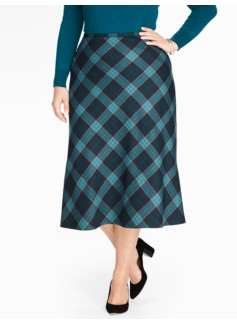 Plaid Riding Skirt