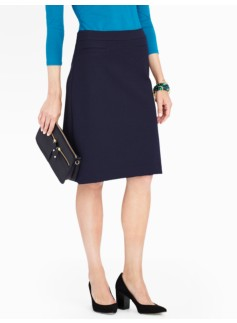 Refined Ponte A-Line Skirt