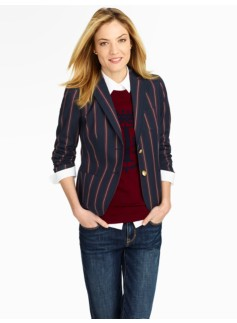 Varsity Stripe Jacket