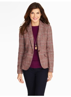 Highland Glen Plaid Jacket