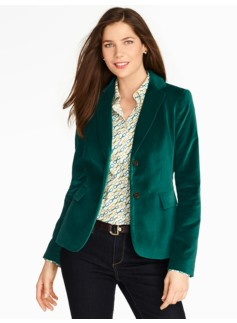 Winter Velvet Blazer