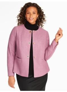 Textured Knit Jacket