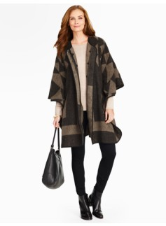Autumn Jacquard Coat