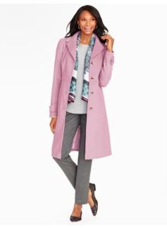 Plush Twill Coat