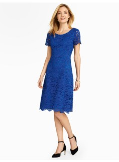 Amherst Lace Fit & Flare Dress