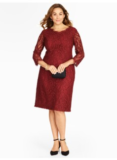 Paisley Lace Sheath