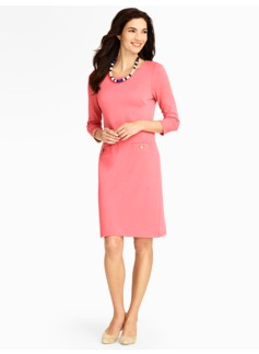 Cotton Interlock Dress