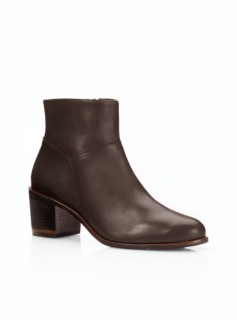 Philipa Chunky-Heel Booties