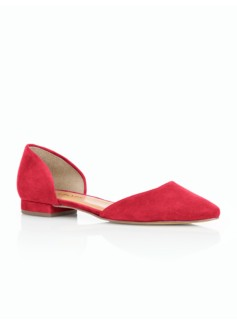 Edison D'Orsay Suede Flats