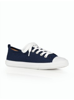 Preston Lace-Up Flannel Sneakers
