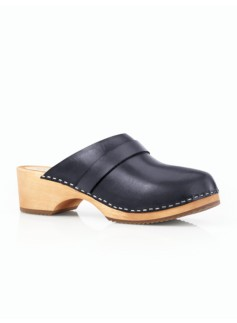 Clarissa Vachetta Leather Clog