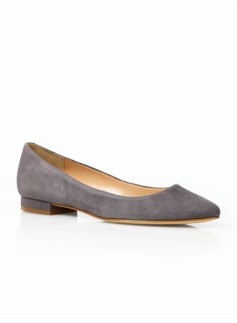 Edison Suede Pointy-Toe Flats