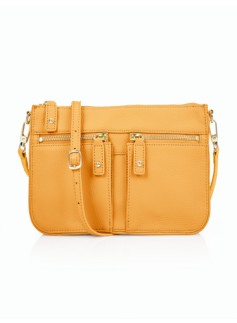 Double-Pocket Crossbody Bag