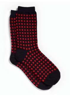 Gingham Trouser Socks