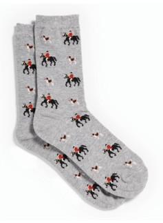 Horse & Hound Trouser Socks