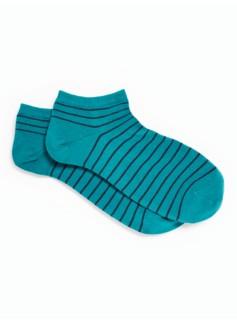 Blazing Stripe Ankle Socks