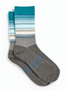 Ombr� Stripe Trouser Socks