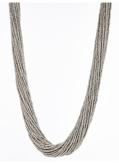 Multi-Strand Seed-Bead Necklace