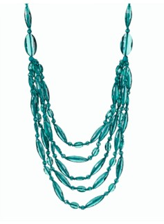 Faceted-Bead Necklace