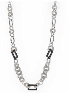Geometric Link Necklace