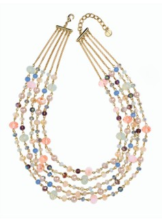 Pastel-Bead Necklace